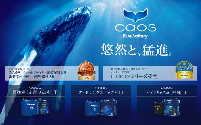 パナソニック バッテリー CAOS