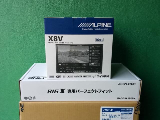 アルパイン ビッグX X8V-HI2