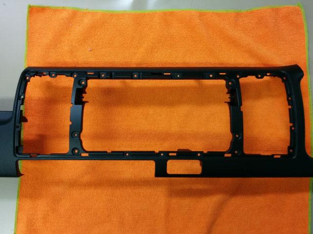 ハイエース S-GL クラスターパネルの加工②