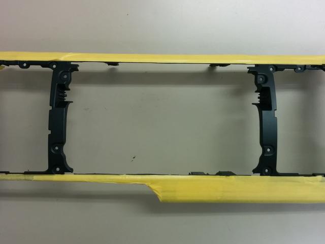 ハイエース S-GL クラスターパネルの加工④