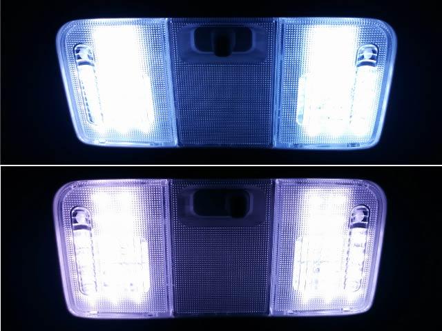 LEDルームランプ 色合い