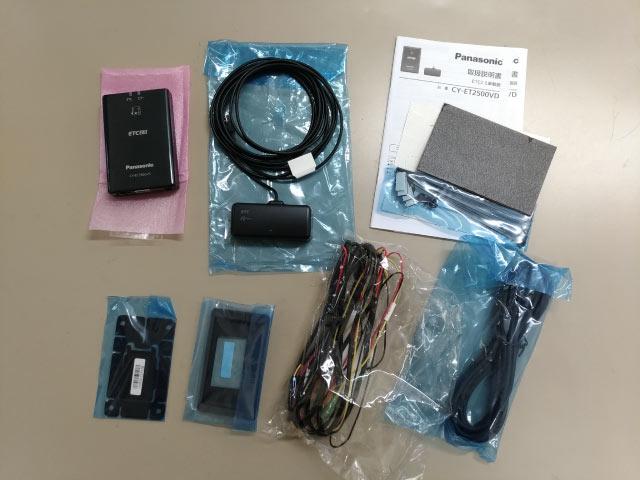 パナソニック CY-ET2500VD 付属品
